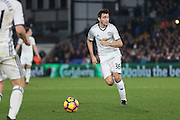Matteo Darmian Defender of Manchester United during the Premier League match between Crystal Palace and Manchester United at Selhurst Park, London, England on 14 December 2016. Photo by Phil Duncan.