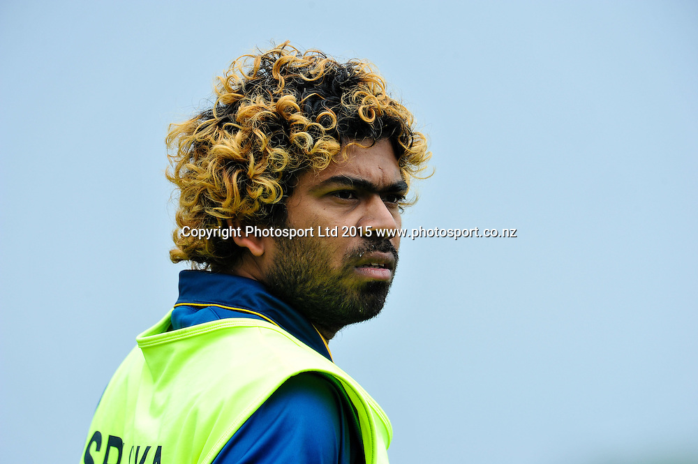Lasith Malinga of Sri Lanka in the first ODI, Black Caps v Sri Lanka, at Hagley Oval, Christchurch, 11 January 2015. Photo:John Davidson/www.photosport.co.nz