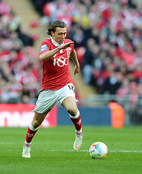 Bristol City's Luke Freeman - Photo mandatory by-line: Joe Meredith/JMP - Mobile: 07966 386802 - 22/03/2015 - SPORT - Football - London - Wembley Stadium - Bristol City v Walsall - Johnstone Paint Trophy Final