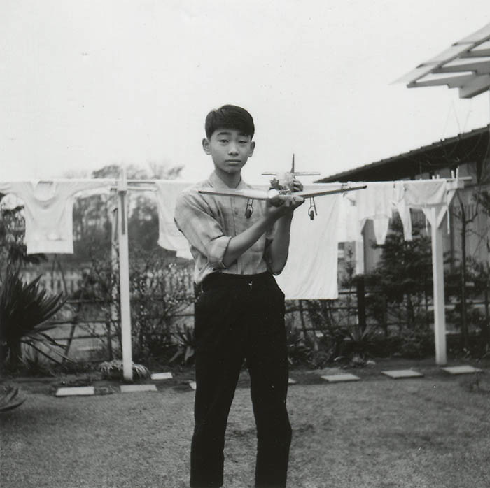 Japanese Vernacular or &quot;Found Photograph&quot;:<br /> <br /> Boy with model airplane, mid 1960s Anonymous<br /> <br /> - Vintage original gelatin silver print.<br /> - Size: 65 mm x 80 mm (2 1/2 in. x 3 1/8 in.).<br /> <br /> Price &yen;10,000 JPY<br /> <br /> <br /> <br /> <br /> <br /> <br /> <br /> <br /> <br /> <br /> <br /> <br /> <br /> <br /> <br /> <br /> <br /> <br /> <br /> <br /> <br /> <br /> <br /> <br /> <br /> <br /> <br /> <br /> <br /> <br /> <br /> <br /> <br /> <br /> <br /> <br /> <br /> <br /> <br /> <br /> <br /> <br /> <br /> <br /> <br /> <br /> <br /> <br /> <br /> <br /> <br /> <br /> <br /> <br /> <br /> <br /> <br /> <br /> <br /> <br /> <br /> <br /> <br /> <br /> <br /> <br /> <br /> <br /> <br /> <br /> <br /> <br /> <br /> <br /> <br /> <br /> <br /> <br /> <br /> <br /> <br /> <br /> .