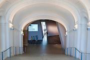 Militärhistorisches Museum innen (umgebaut von Liebeskind), Neustadt, Dresden, Sachsen, Deutschland | interior of Military Museum (rebuilt by Liebeskind), Neustadt, Dresden, Saxony, Germany,