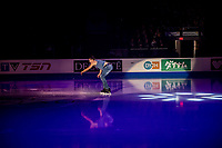 KELOWNA, BC - OCTOBER 24:  Nicolas Nadeau of Canada performs during the final gala of Skate Canada International at Prospera Place on October 24, 2019 in Kelowna, Canada. (Photo by Marissa Baecker/Shoot the Breeze)