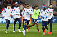 Groupe Lyon - 04.04.2015 - Guingamp / Lyon - 31eme journee de Ligue 1<br />