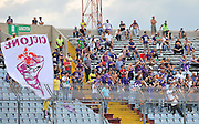 Udine, 18 Settembre 2011.Campionato di calcio Serie A 2011/2012  3^ giornata..Udinese vs Fiorentina. Stadio Friuli..Nella Foto: i tifosi della Fiorentina..© foto di Simone Ferraro