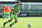 Forest Green Rovers Kyle Taylor(28),on loan from Bournemouth during the EFL Sky Bet League 2 match between Forest Green Rovers and Colchester United at the New Lawn, Forest Green, United Kingdom on 14 September 2019.