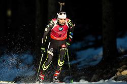 FOURCADE Martin (FRA) competes during Men 15 km Mass Start at day 4 of IBU Biathlon World Cup 2014/2015 Pokljuka, on December 21, 2014 in Rudno polje, Pokljuka, Slovenia. Photo by Vid Ponikvar / Sportida