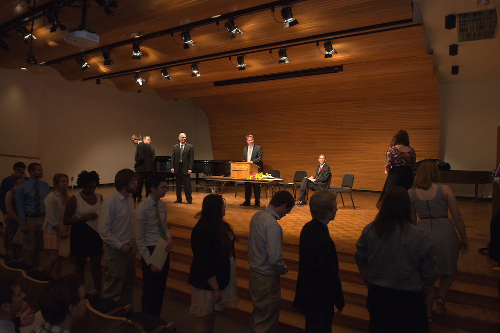 Phi Beta Kappa Honors Society Glidden Hall Music Recital Room