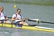 Caversham, Great Britain.  GBR M4-,  Matt LANGRIDGE. GB Rowing media day, GB Rowing Training Centre, Caversham. Tuesday,  18/05/2010 [Mandatory Credit. Peter Spurrier/Intersport Images]