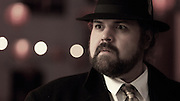 Samm Hill plays Orson Welles in The Harvey Girl From Shangahai.