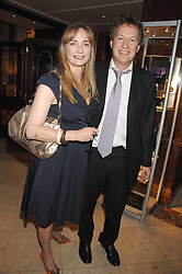 ORLANDO & CLEMENTINE FRASER at a party to celebrate the 180th Anniversary of The Spectator magazine, held at the Hyatt Regency London - The Churchill, 30 Portman Square, London on 7th May 2008.<br />