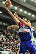 DESCRIZIONE : Campionato 2014/15 Dinamo Banco di Sardegna Sassari - Enel Brindisi<br /> GIOCATORE : Andrea Zerini<br /> CATEGORIA : Tiro Penetrazione Sottomano<br /> SQUADRA : Enel Brindisi<br /> EVENTO : LegaBasket Serie A Beko 2014/2015<br /> GARA : Dinamo Banco di Sardegna Sassari - Enel Brindisi<br /> DATA : 27/10/2014<br /> SPORT : Pallacanestro <br /> AUTORE : Agenzia Ciamillo-Castoria / M.Turrini<br /> Galleria : LegaBasket Serie A Beko 2014/2015<br /> Fotonotizia : Campionato 2014/15 Dinamo Banco di Sardegna Sassari - Enel Brindisi<br /> Predefinita :