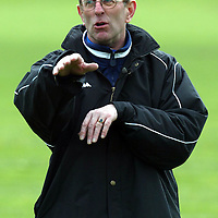 St Johnstone's new manager John Connolly pictured during training.<br />see story by Gordon Bannerman Tel: 01738 553978 or 07729 865788<br />Picture by Graeme Hart.<br />Copyright Perthshire Picture Agency<br />Tel: 01738 623350  Mobile: 07990 594431