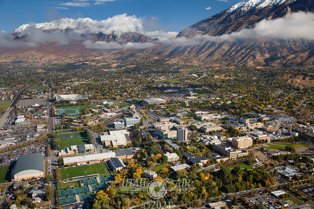 Brigham Young University in the Fall