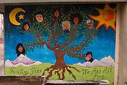 Melrose Leadership Academy Murals