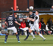 Dundee's Paul McGinn and Inverness Caledonian Thistle&rsquo;s Ryan Christie - Dundee v Inverness Caledonian Thistle - SPFL Premiership at Dens Park <br /> <br />  - &copy; David Young - www.davidyoungphoto.co.uk - email: davidyoungphoto@gmail.com