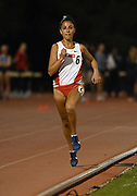Apr 18, 2019; Azusa, CA, USA; Adva Cohen of New Mexico places second in the women's 5,000m in 15:31.01 at the Bryan Clay Invitational at Azusa Pacific University.