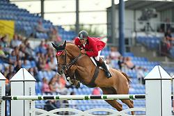 Skrzyczynski, Jaroslaw (POL), Crazy Quick<br /> Aachen - Europameisterschaften 2015<br /> Internationales Springen<br /> © www.sportfotos-lafrentz.de/Stefan Lafrentz