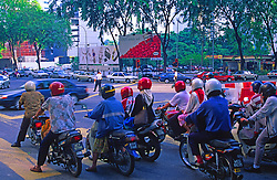 City Traffic Motor Scooters
