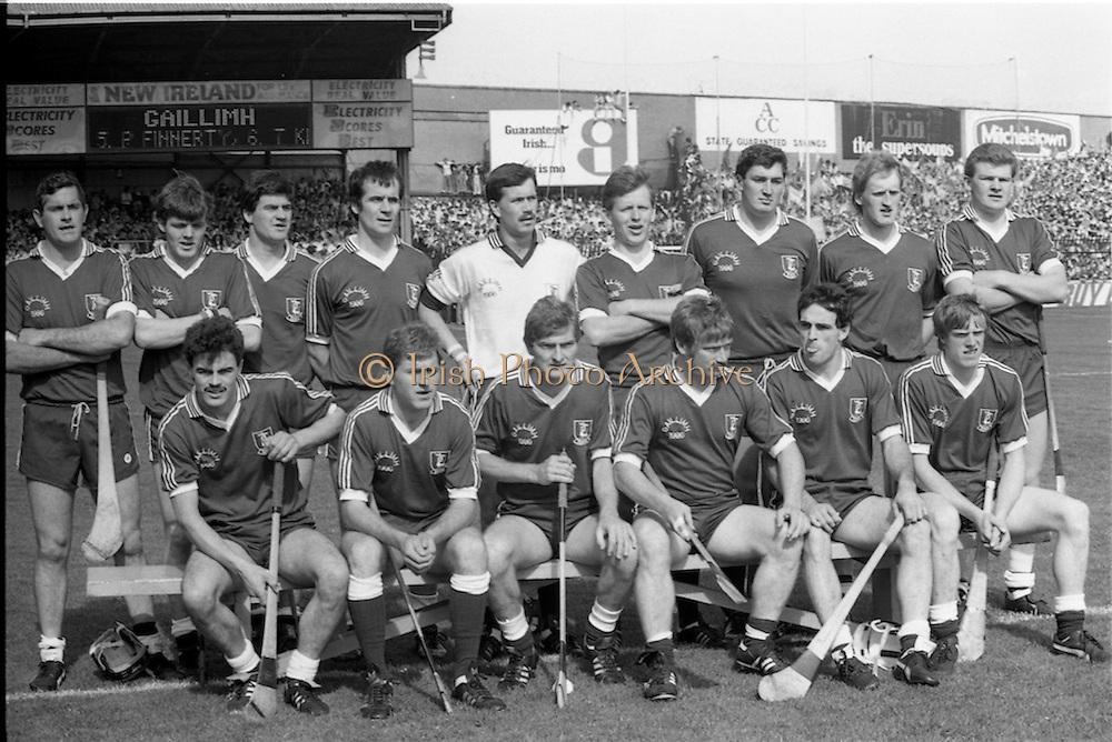 07/09/1986<br /> 09/07/1986<br /> 7 September 1986<br /> All-Ireland Senior and Minor Hurling Finals at Croke Park, Dublin.<br /> Galway team (senior)