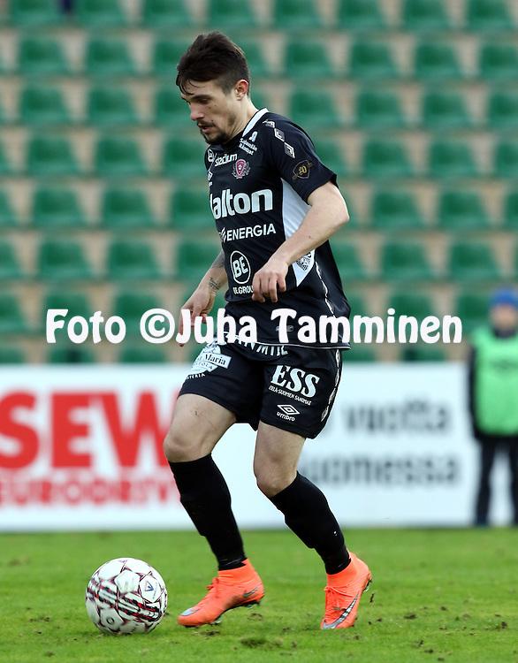 28.4.2016, Kisapuisto, Lahti.<br /> Veikkausliiga 2016.<br /> FC Lahti - Vaasan Palloseura<br /> Ivan Solovyov - FC Lahti