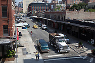New York.    Chelsea , elevated view on 14th street  / la 14em rue vue d'en haut