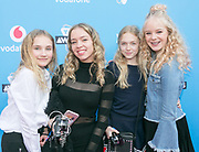 2018-03-24. Club Panama, Amsterdam. Veed Awards 2018. Op de foto: Isa Smid, Anne-Jet Sikkink, Nina Schotpoort en Beau Potman