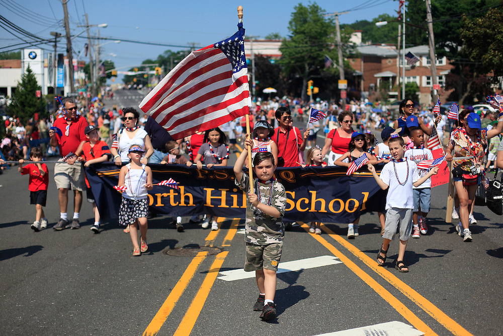 Memorial Day Parade.  Little Neck, Queens