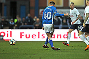 GOAL Ian Henderson scores for Rochdale 1-0 during the The FA Cup match between Rochdale and Tottenham Hotspur at Spotland, Rochdale, England on 18 February 2018. Picture by Daniel Youngs.