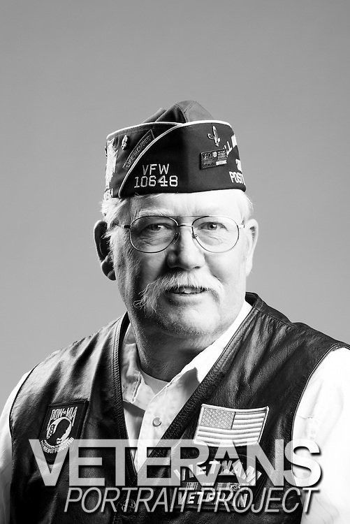 Ronald G. Packard<br /> Navy<br /> E-4<br /> Engineer<br /> 1969 - 1972<br /> Vietnam<br /> <br /> Veterans Portrait Project<br /> St. Louis, MO