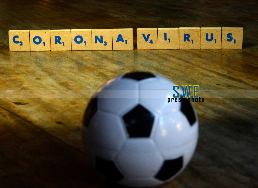 Rio de Janeiro-Brazil March 26, 2020, dark times in world football with the arrival of the coronavirus (covid19)
