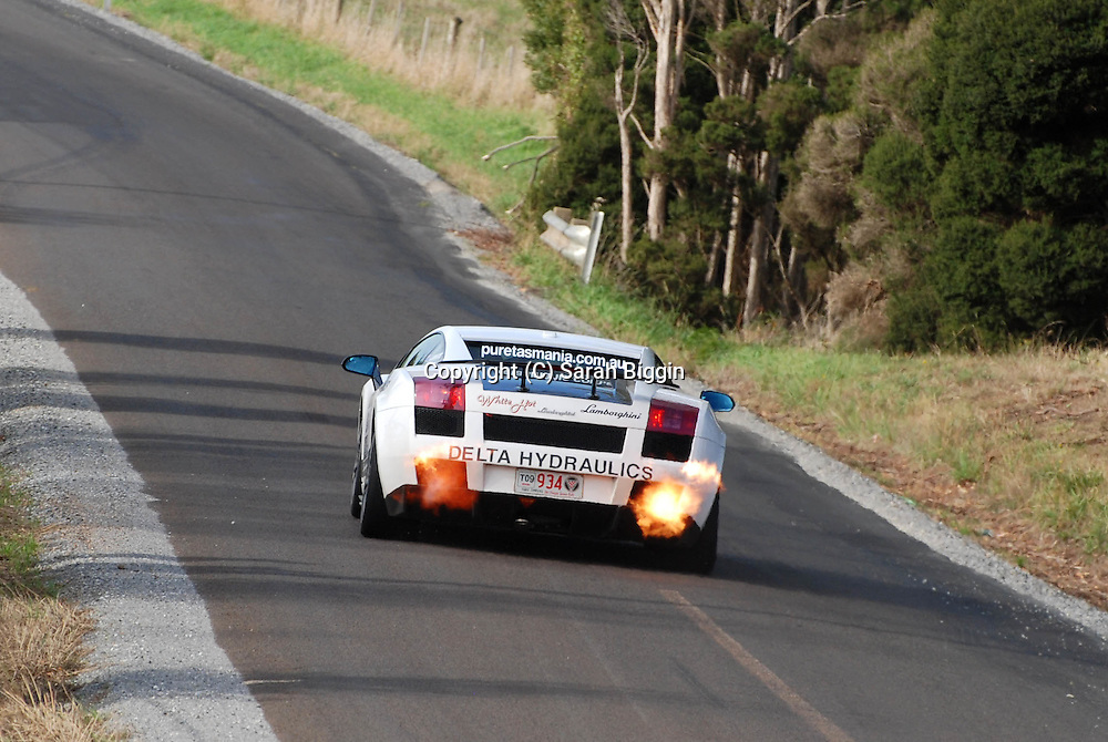 Day 1.Targa Tasmania 2009.29th of April 2009.(C) Sarah Biggin.