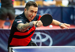 BAYLEY William John (GBR) during Team events at Day 4 of 16th Slovenia Open - Thermana Lasko 2019 Table Tennis for the Disabled, on May 11, 2019, in Dvorana Tri Lilije, Lasko, Slovenia. Photo by Vid Ponikvar / Sportida