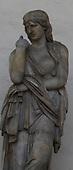 Italy, Florence, Sculptures, Piazza della Signoria, Loggia dei Lanzi