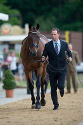 Mcnab Kevin (AUS) - Clifton Pinot<br /> Horse Inspection <br /> CCI4*  Luhmuhlen 2014 <br /> © Hippo Foto - Jon Stroud