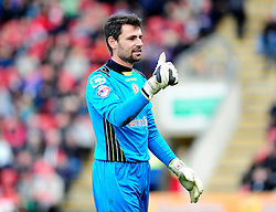Crewe Alexandra's Steve Phillips - Photo mandatory by-line: Robin White/JMP - Tel: Mobile: 07966 386802 21/10/2013 - SPORT - FOOTBALL - Selhurst Park - London - Crystal Palace V Fulham - Barclays Premier League