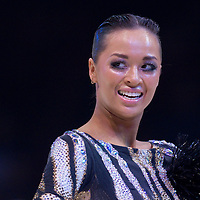 23 January 2010: Ekaterina Sokolova is seen during the Masters Bercy Latin and Ballroom (standard) Dancesport Championship 2010, at Palais Omnisports Paris Bercy, in Paris, France. .