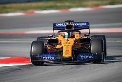 February 28, 2019 - Montmelo, BARCELONA, Spain - CATALONIA, BARCELONA, SPAIN, 28 February. #4 Lando Norris driver of McLaren F1 during the winter test at Circuit de Barcelona Catalunya. (Credit Image: © AFP7 via ZUMA Wire)