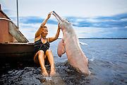 Image stock Brazil, AmazÛnia, Arround Manaus, Boto