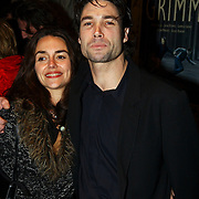 Premiere Grimm, Daniel Boissevain en vriendin Vanessa Henneman