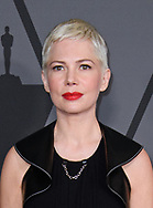 12.11.2017; Hollywood, USA: MICHELLE WILLIAMS<br /> attends the Academy&rsquo;s 2017 Annual Governors Awards in The Ray Dolby Ballroom at Hollywood &amp; Highland Center, Hollywood<br /> Mandatory Photo Credit: &copy;AMPAS/Newspix International<br /> <br /> IMMEDIATE CONFIRMATION OF USAGE REQUIRED:<br /> Newspix International, 31 Chinnery Hill, Bishop's Stortford, ENGLAND CM23 3PS<br /> Tel:+441279 324672  ; Fax: +441279656877<br /> Mobile:  07775681153<br /> e-mail: info@newspixinternational.co.uk<br /> Usage Implies Acceptance of Our Terms &amp; Conditions<br /> Please refer to usage terms. All Fees Payable To Newspix International
