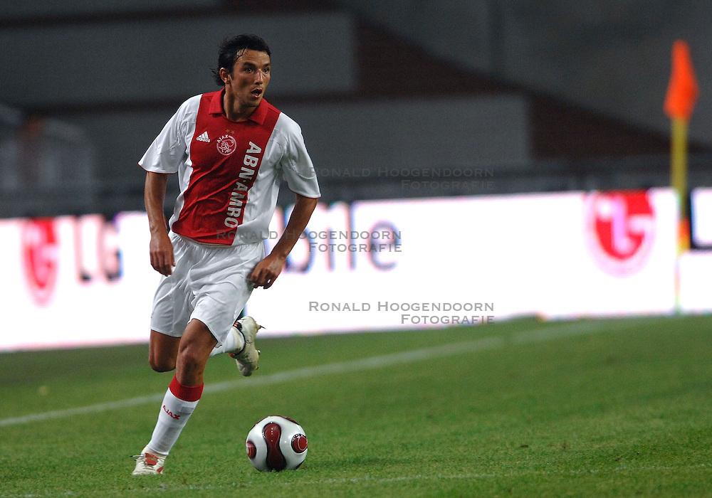 04-08-2007 VOETBAL: LG AMSTERDAM TOURNAMENT: AJAX - ARSENAL: AMSTERDAM<br /> Ajax verliest met 1-0 van Arsenal / George Ogararu<br /> &copy;2007-WWW.FOTOHOOGENDOORN.NL