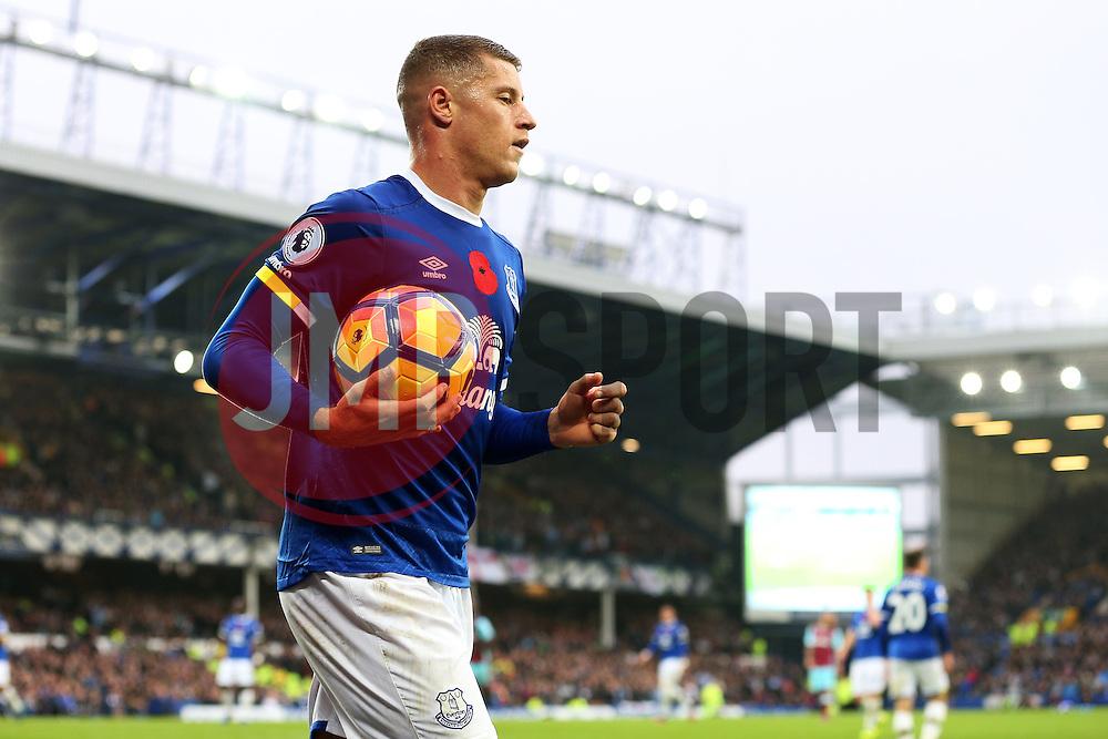 Ross Barkley of Everton - Mandatory by-line: Matt McNulty/JMP - 30/10/2016 - FOOTBALL - Goodison Park - Liverpool, England - Everton v West Ham United - Premier League