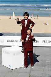 21.09.2011, Sebastian Donostia, ESP, 59. San Sebsatian Filmfestival, Zinemaldia, im Bild Actors Oshiro Maeda (r) and his brother Koki Maeda (l) after the screening of their film 'Kiseki' (I Wish) during the 59th San Sebastian Donostia International Film Festival - Zinemaldia.September 20,2011. EXPA Pictures © 2011, PhotoCredit: EXPA/ Alterphoto/ Acero +++++ ATTENTION - OUT OF SPAIN/(ESP) +++++