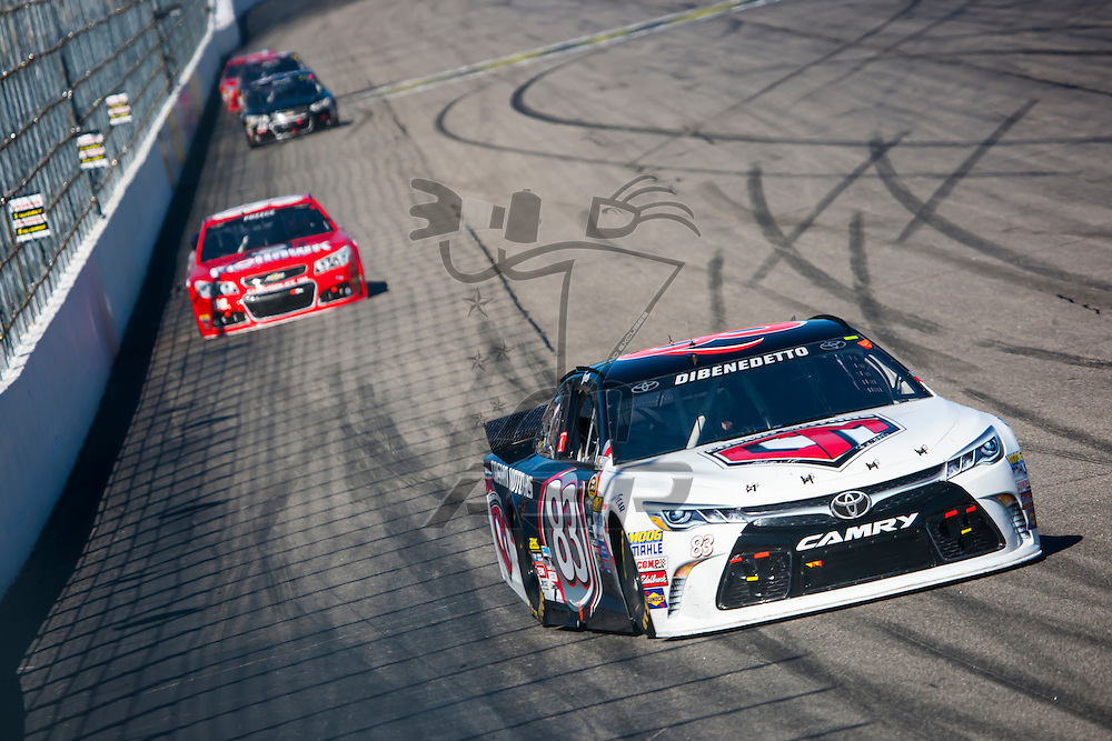 Loudon, NH - Sep 27, 2015:  The NASCAR Sprint Cup Series teams take to the track for the Sylvania 300 at New Hampshire Motor Speedway in Loudon, NH.