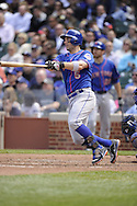 CHICAGO - MAY 17:  David Wright #5 of the New York Mets bats against the Chicago Cubs on May 17, 2013 at Wrigley Field in Chicago, Illinois.  The Mets defeated the Cubs 3-2.  (Photo by Ron Vesely/MLB Photos via Getty Images)  *** Local Caption *** David Wright