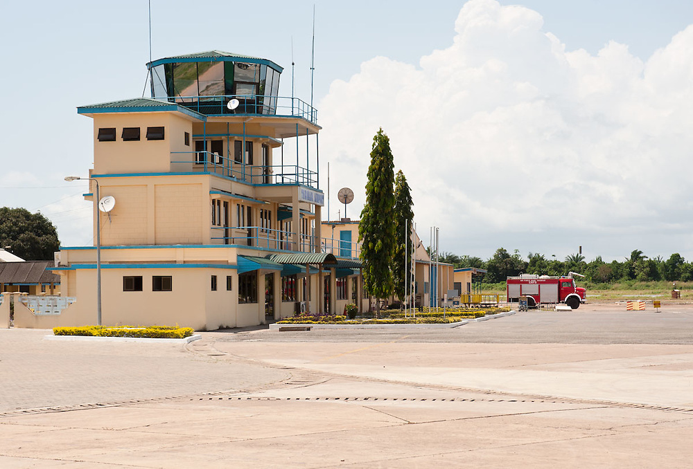 Takoradi Airport, Ghana 2011