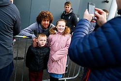 Han-Noah Massengo of Bristol City arrives - Rogan/JMP - 30/11/2019 - Ashton Gate Stadium - Bristol, England - Bristol City v Huddersfield Town - Sky Bet Championship.