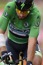 July 28, 2018 - Espelette, France - ESPELETTE, FRANCE - JULY 28 :  SAGAN Peter (SVK) of Bora - Hansgrohe during stage 20 of the 105th edition of the 2018 Tour de France cycling race, an individual time-trial stage of 31 kms between Saint-Pee-sur-Nivelle and Espelette on July 28, 2018 in Espelette, France, 28/07/2018 (Credit Image: © Panoramic via ZUMA Press)
