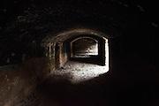 An abandoned mine.