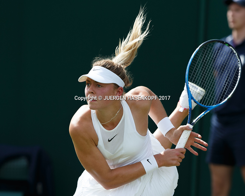 CARINA WITTHOEFT (GER)<br /> <br /> Tennis - Wimbledon 2017 - Grand Slam ITF / ATP / WTA -  AELTC - London -  - Great Britain  - 3 July 2017.
